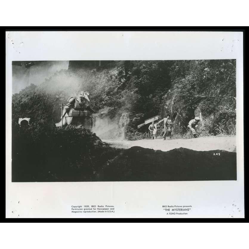 PRISONNIERE DES MARTIENS Photo de film N6 20x25 - 1959 - Kenji Sahara, Ishiro Honda