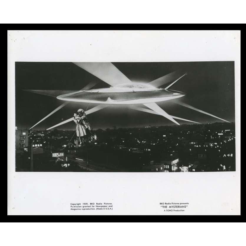 PRISONNIERE DES MARTIENS Photo de film N12 20x25 - 1959 - Kenji Sahara, Ishiro Honda