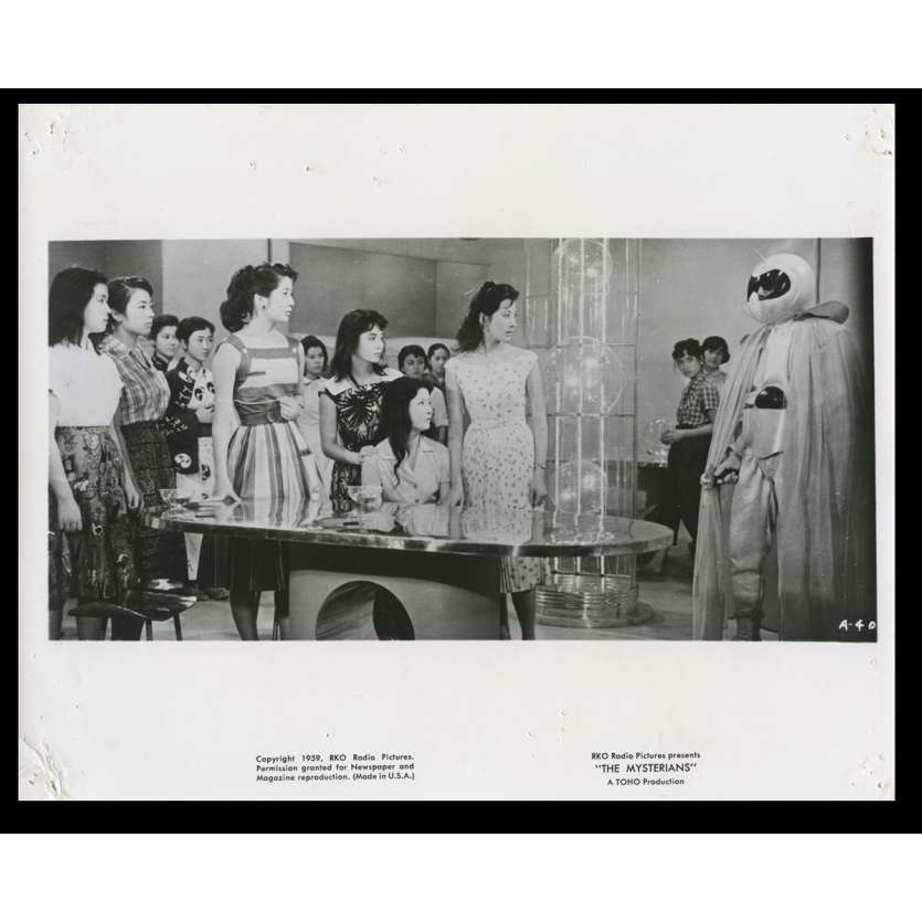 THE MYSTERIANS US Movie Still N13 8x10 - 1959 - Ishiro Honda, Kenji Sahara