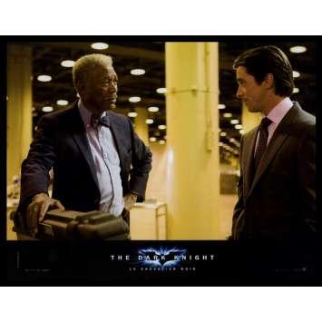BATMAN THE DARK KNIGHT French Lobby Card N5 9x12 - 2008 - Christopher Nolan, Heath Ledger