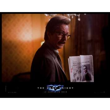 BATMAN THE DARK KNIGHT French Lobby Card N4 9x12 - 2008 - Christopher Nolan, Heath Ledger