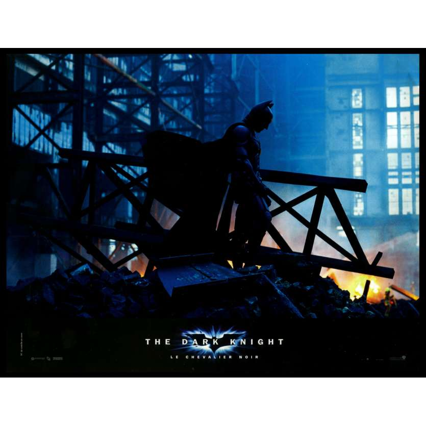 BATMAN THE DARK KNIGHT Photo de film N1 21x30 - 2008 - Heath Ledger, Christopher Nolan