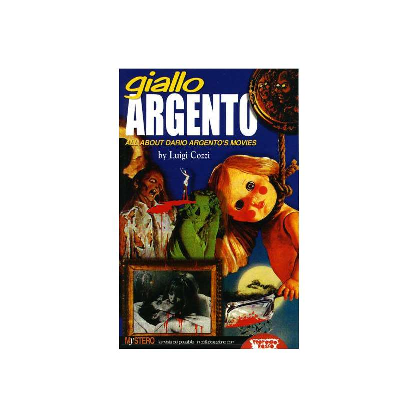 DARIO ARGENTO Giallo Argento Signed by Luigi Cozzi