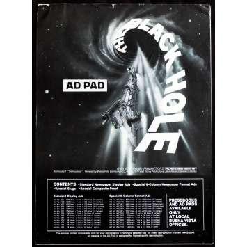 THE BLACK HOLE US Pressbook - AD Supplement 12p 11x15 - 1981 - Walt Disney, Anthony Perkins