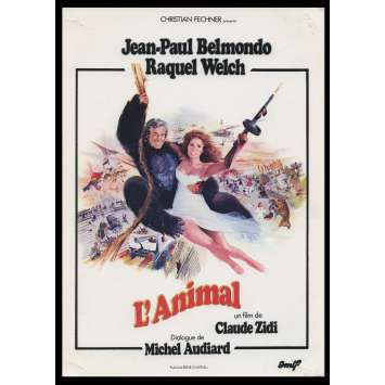 L'ANIMAL Synopsis du film 6p 18x26 - 1977 - Jean-Paul Belmondo, Claude Zidi