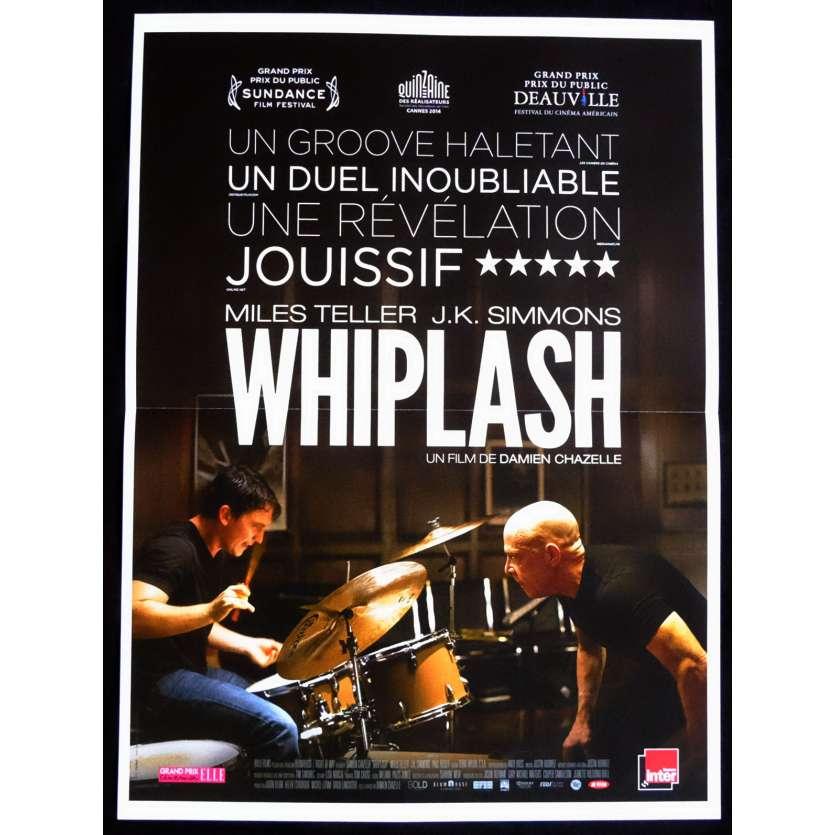 WHIPLASH Affiche de film 40x60 - 2015 - Miles Teller, Damien Chazelle