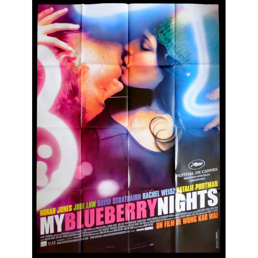 MY BLUEBERRY NIGHTS French Movie Poster 47x63 - 2007 - Wong Kar-wai, Norah Jones