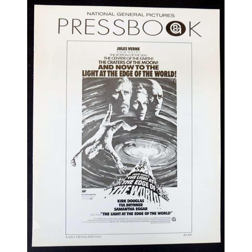 LE PHARE DU BOUT DU MONDE Dossier de presse 28x43 - 1971 - Kirk Douglas, Yul Brynner, Jules Verne