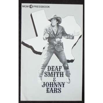 DEAF SMITH US Pressbook 11x17 - 1973 - Paolo Cavara, Anthony Quinn, Franco Nero