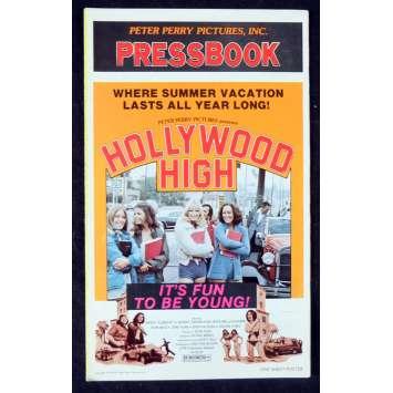 HOLLYWOOD HIGH Dossier de presse 28x43 - 1976 - Susanne Severeid, Patrick Wright