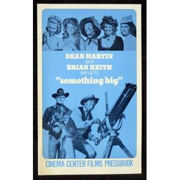 SOMETHING BIG US Pressbook 11x17 - 1971 - Andrew V. McLaglen, Dean Martin