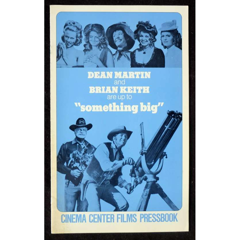 SOMETHING BIG US Pressbook 11x17 - 1971 - Andrew V. McLaglen, Dean Martin