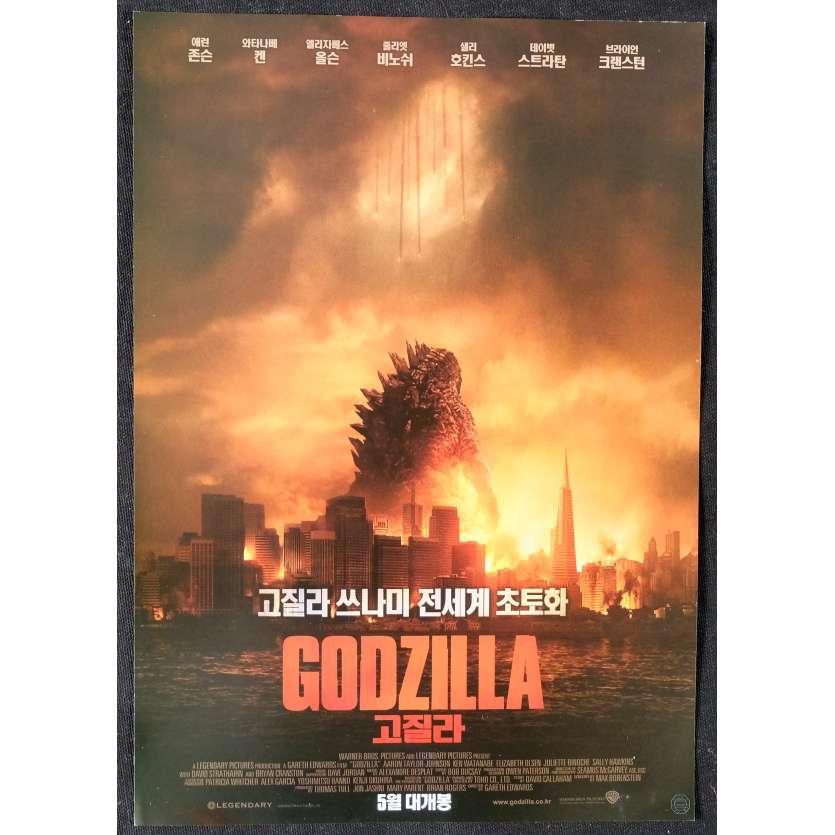 GODZILLA Synopsis - Chirirashi 18x25 - 2014 - Bruan Cranston, Gareth Edwards
