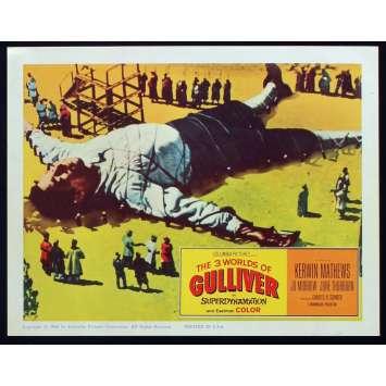 LES VOYAGES DE GULLIVER Photo de film N6 28x36 - 1960 - Kerwin Mathews, Ray Harryhausen