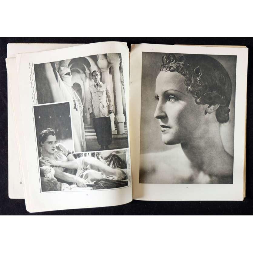 L'ATLANTIDE Programme de film 23x30 - 1932 - Brigitte Helm, Georg Wilhelm Pabst