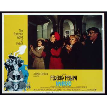 AMARCORD Photo de film N6 28x36 - 1974 - Magali Noel, Federico Fellini