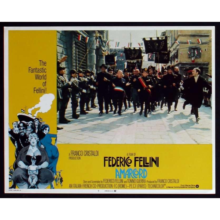 AMARCORD Photo de film N3 28x36 - 1974 - Magali Noel, Federico Fellini