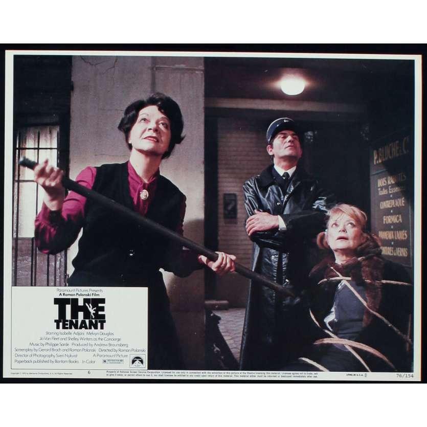THE TENANT US Lobby Card N2 11x14 - 1976 - Roman Polanski, Isabelle Ajjani