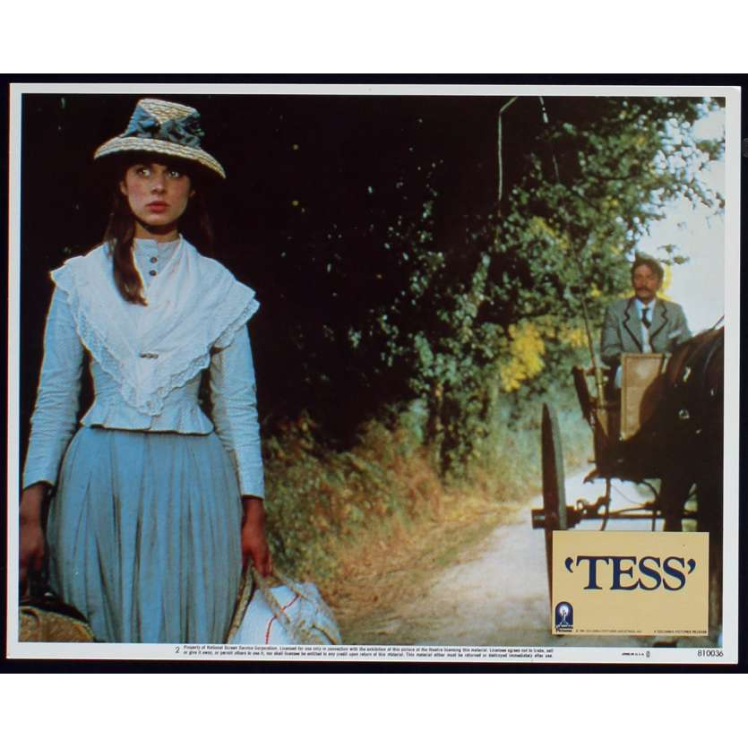 TESS Photo de film N7 28x36 - 1981 - Nastassja Kinski, Roman Polanski