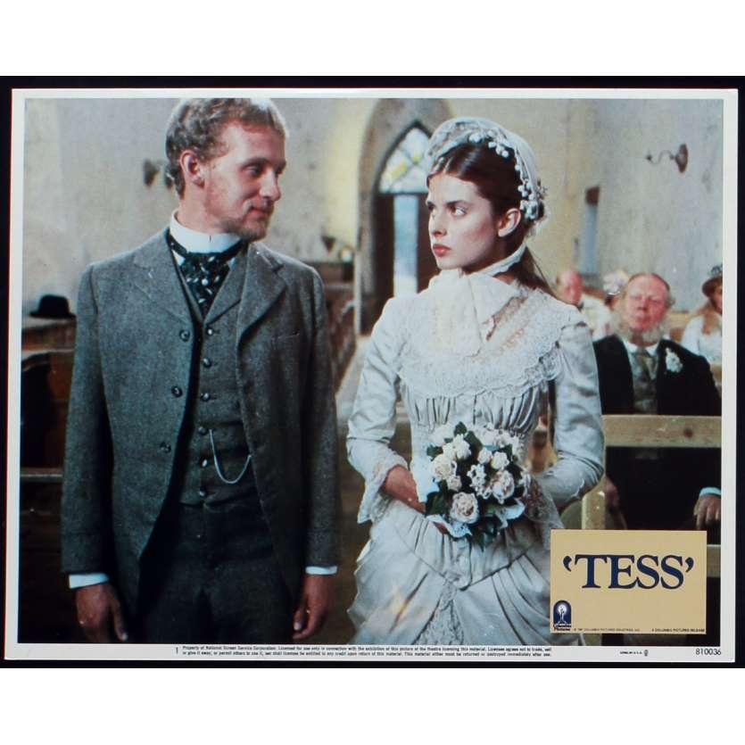 TESS US Lobby Card N5 11x14 - 1981 - Roman Polanski, Nastassja Kinski