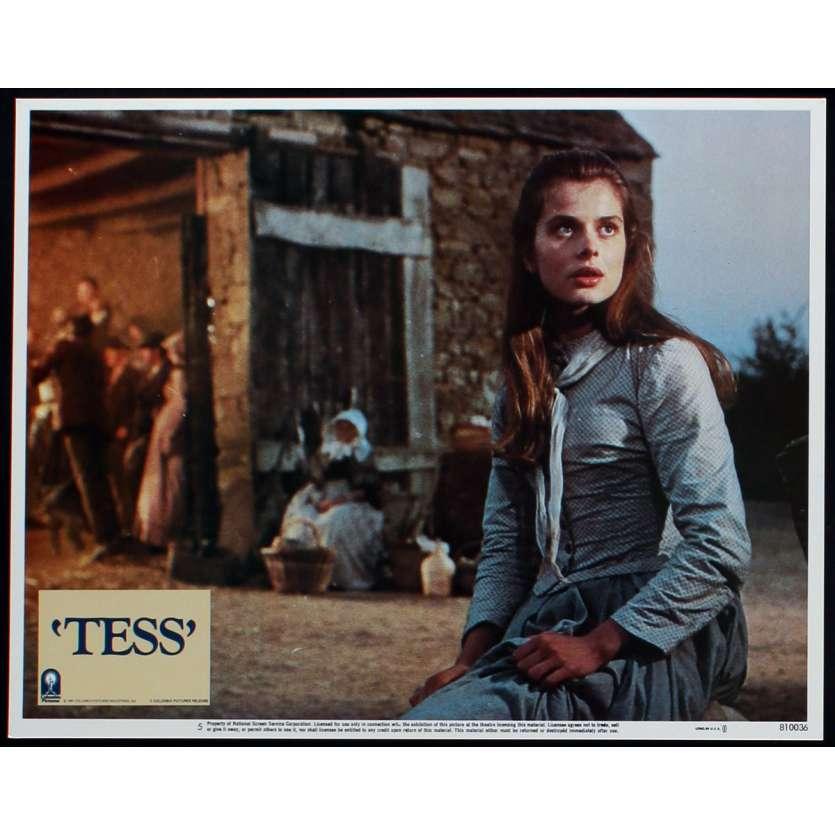 TESS US Lobby Card N1 11x14 - 1981 - Roman Polanski, Nastassja Kinski