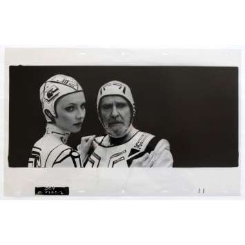 TRON Transparent - Kodalithe N4 50x31 - 1982 - Jeff Bridges, Steven Lisberger