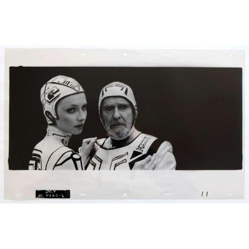 TRON Transparent - Kodalithe N4 50x31 - 1982 - Jeff Bridges, Steven Lisberger