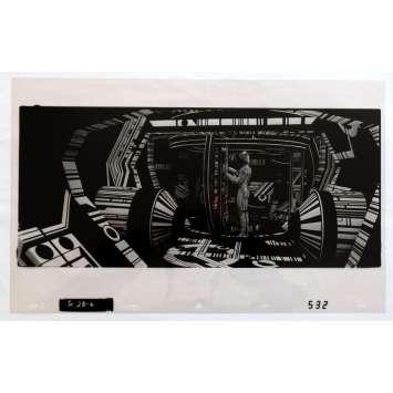 TRON US Transparent - Kodalith N3 20x12 - 1982 - Steven Lisberger, Jeff Bridges