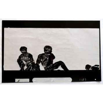 TRON US Transparent - Kodalith N2 20x12 - 1982 - Steven Lisberger, Jeff Bridges