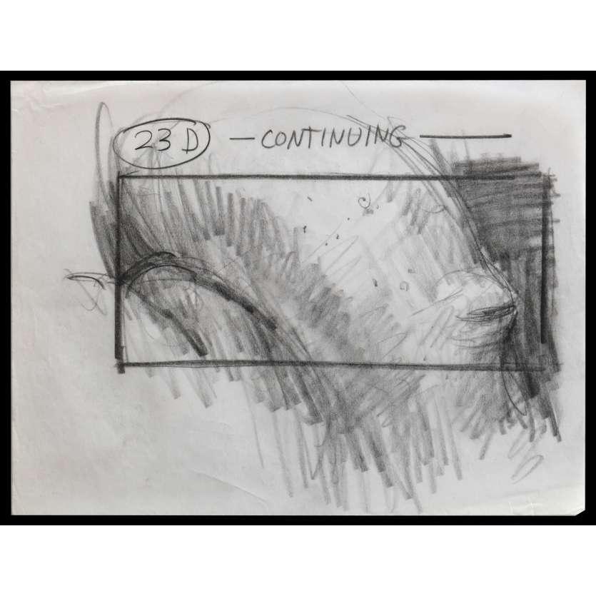 DUNE Storyboard N4 22x28 - 1987 - Kyle McLachlan, David Lynch
