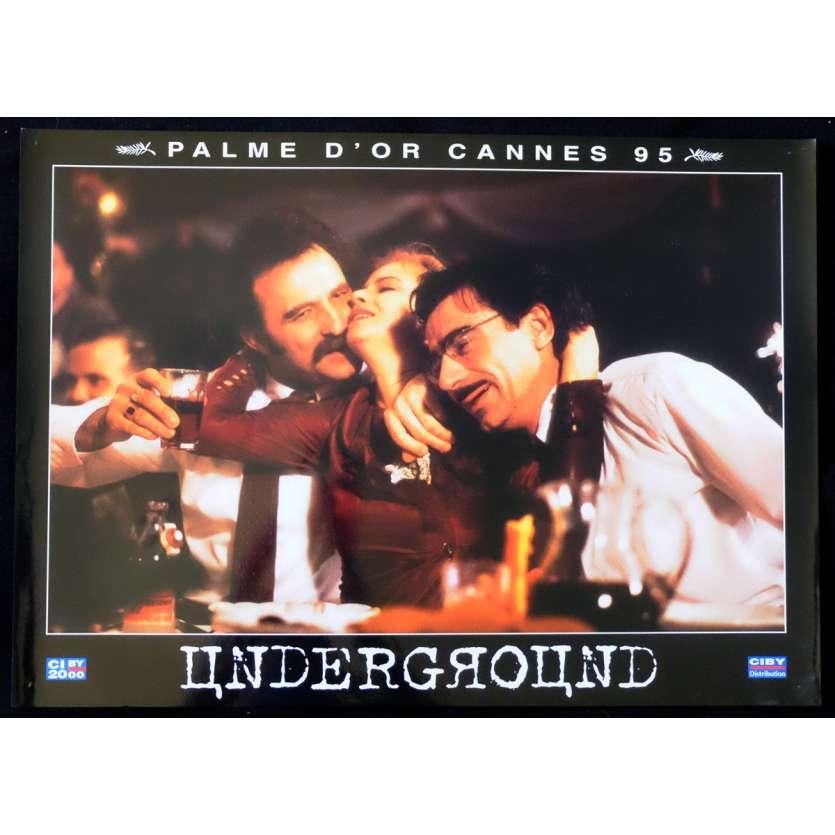 UNDERGROUND French Prestige Lobby Card N8 12x16 - 1995 - Emir Kusturica, Predrag Manojlovic