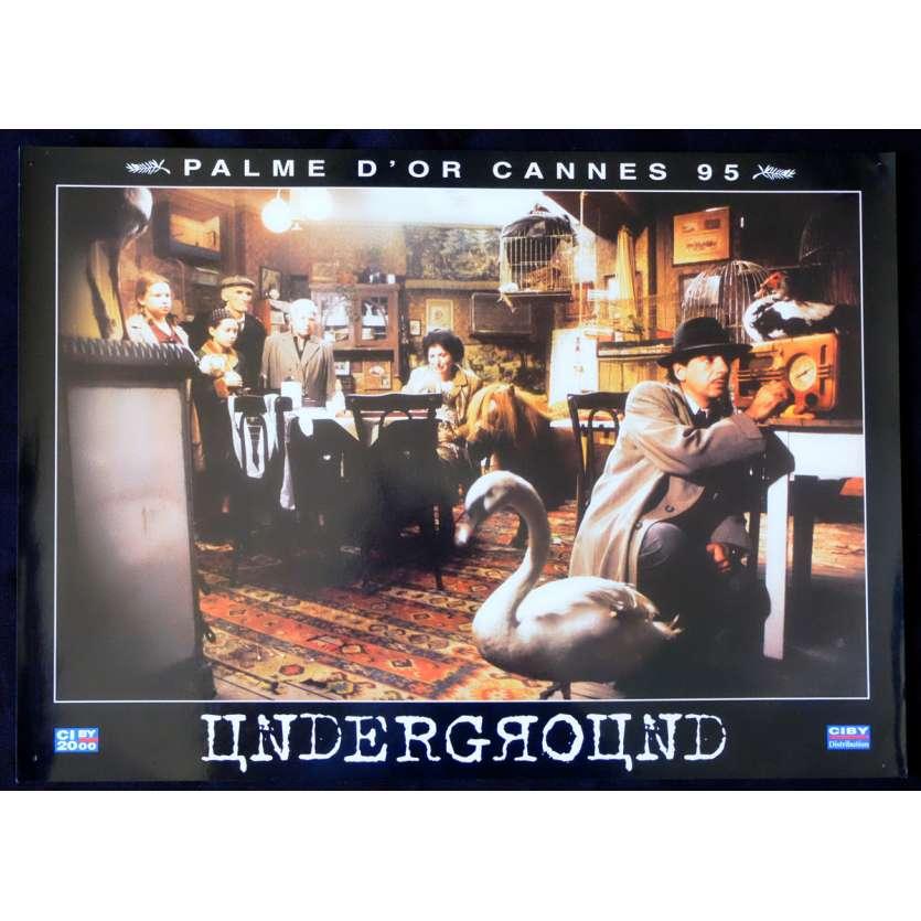 UNDERGROUND French Prestige Lobby Card N4 12x16 - 1995 - Emir Kusturica, Predrag Manojlovic