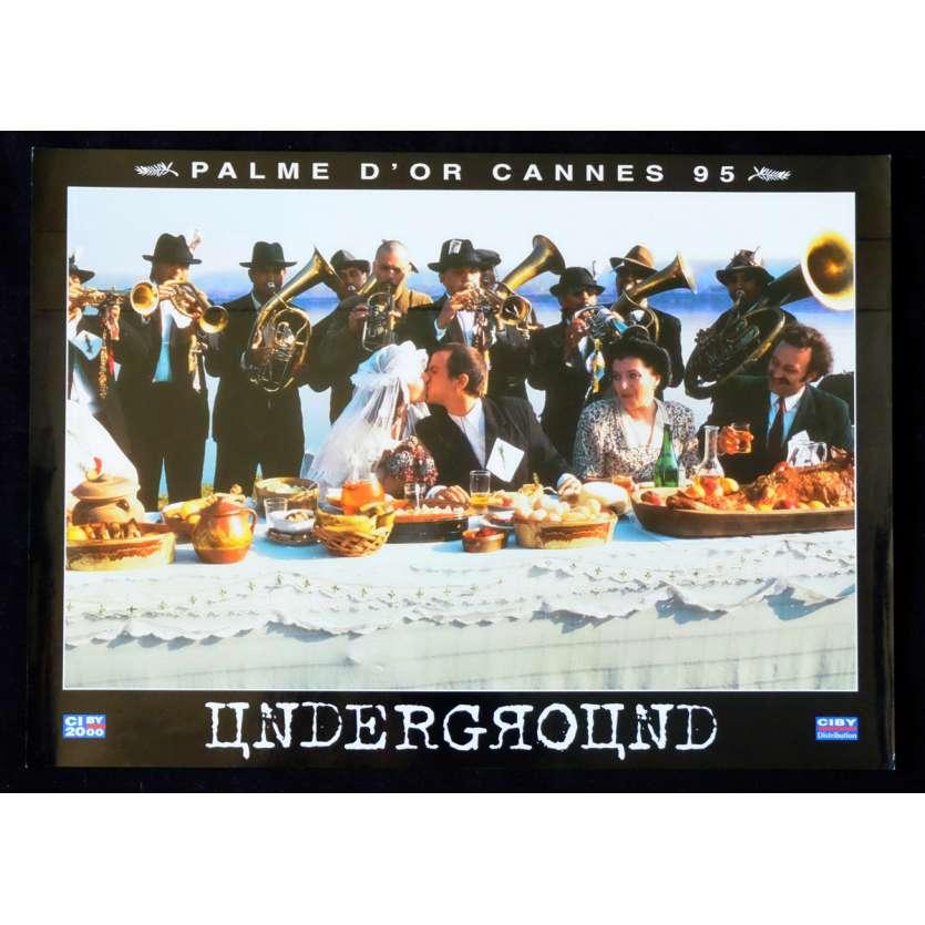 UNDERGROUND Photo Prestige du film N2 30x40 - 1995 - Predrag Manojlovic, Emir Kusturica