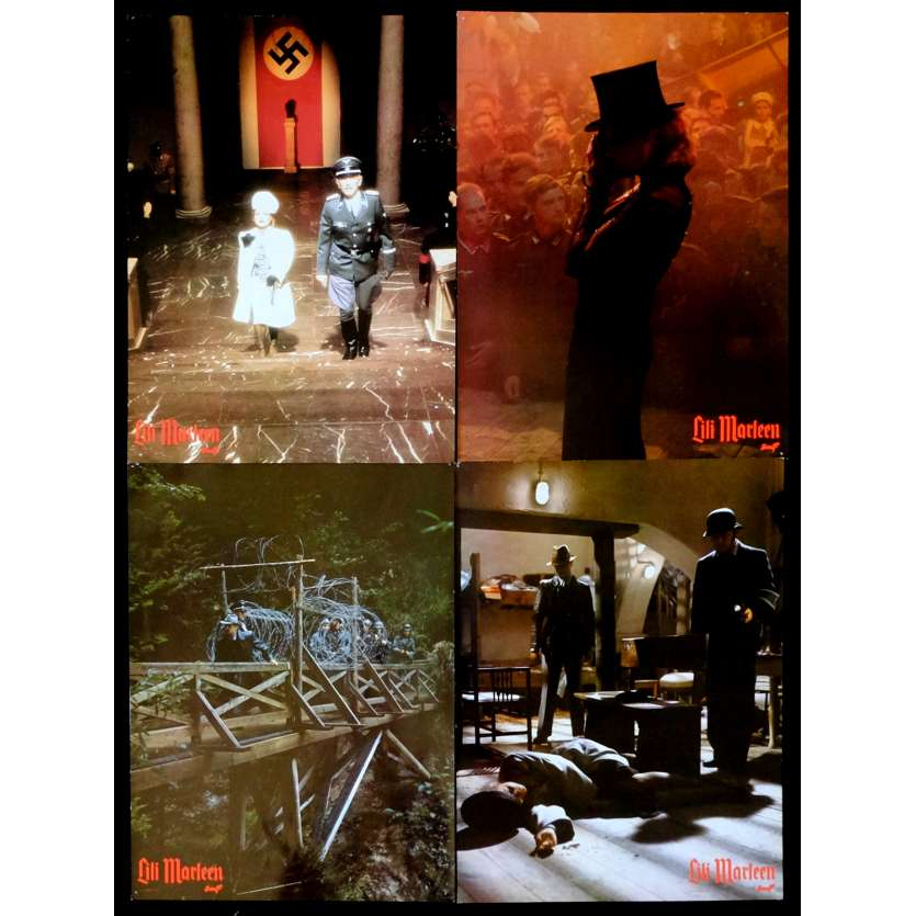 LILI MARLEEN French Prestige Lobby Card N1 12x16 - 1981 - Rainer Werner Fassbinder, Hanna Schygulla