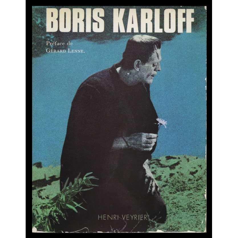 BORIS KARLOFF Livre broché 286p - 1976 - Henri Veyrier, Gérard Lenne