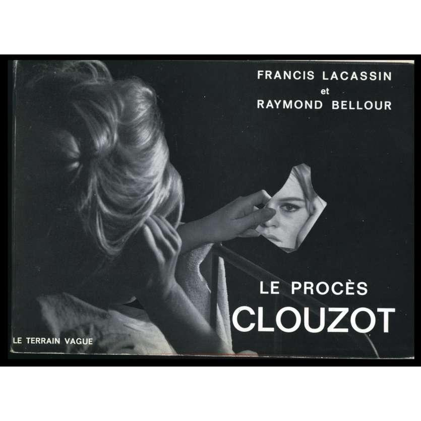 LE PROCES CLOUZOT Softcover Book 154p - 1964 - F. Lacassin, Le Terrain Vague
