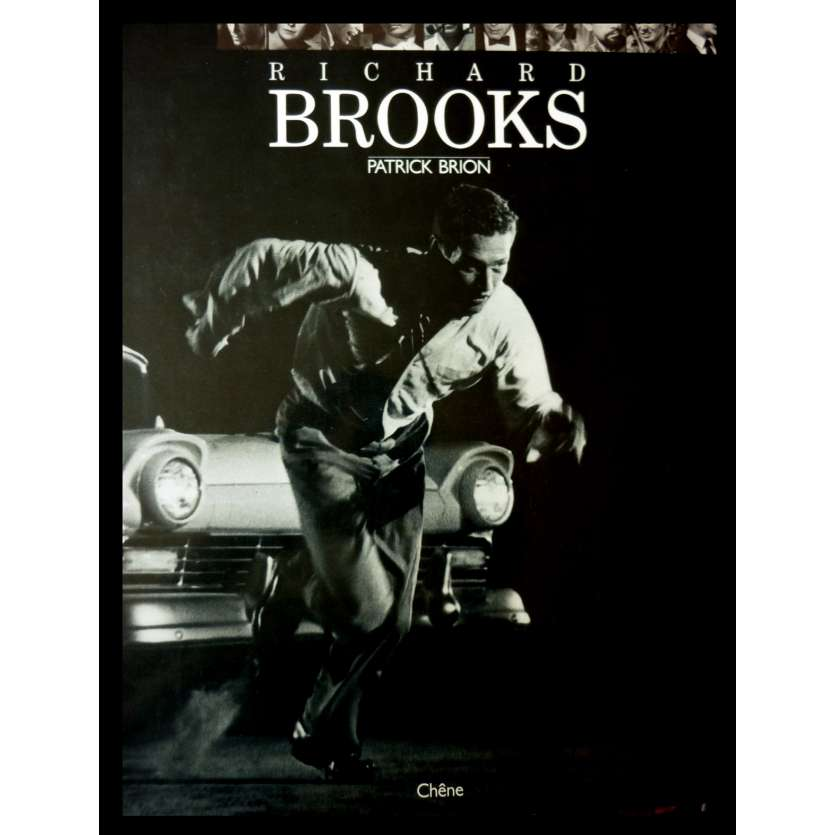 RICHARD BROOKS Hardcover Book 239p - 1986 - Patrick Brion, Chêne