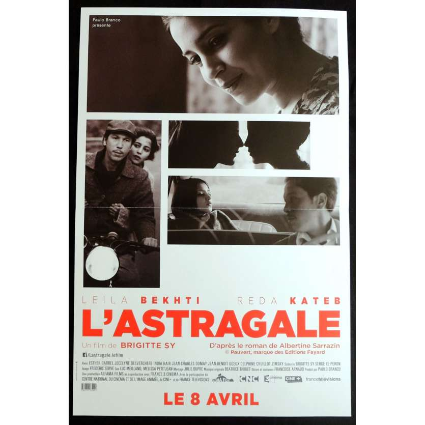 L'ASTRAGALE French Movie Poster 15x21 - 2014 - Brigitte Sy, Reda Kateb, Leïla Bekhti
