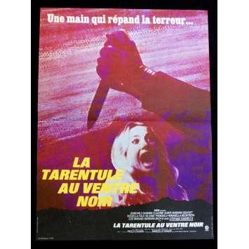 BLACK BELLY OF THE TARANTULA French Movie Poster 15x21 - 1971 - Paolo Cavara, Claudine Auger