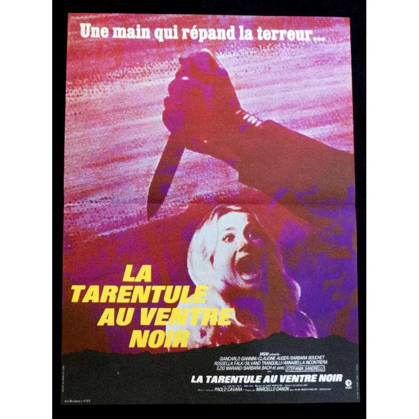 LA TARENTULE AU VENTRE NOIR Affiche de film 40x60 - 1971 - Claudine Auger, Paolo Cavara