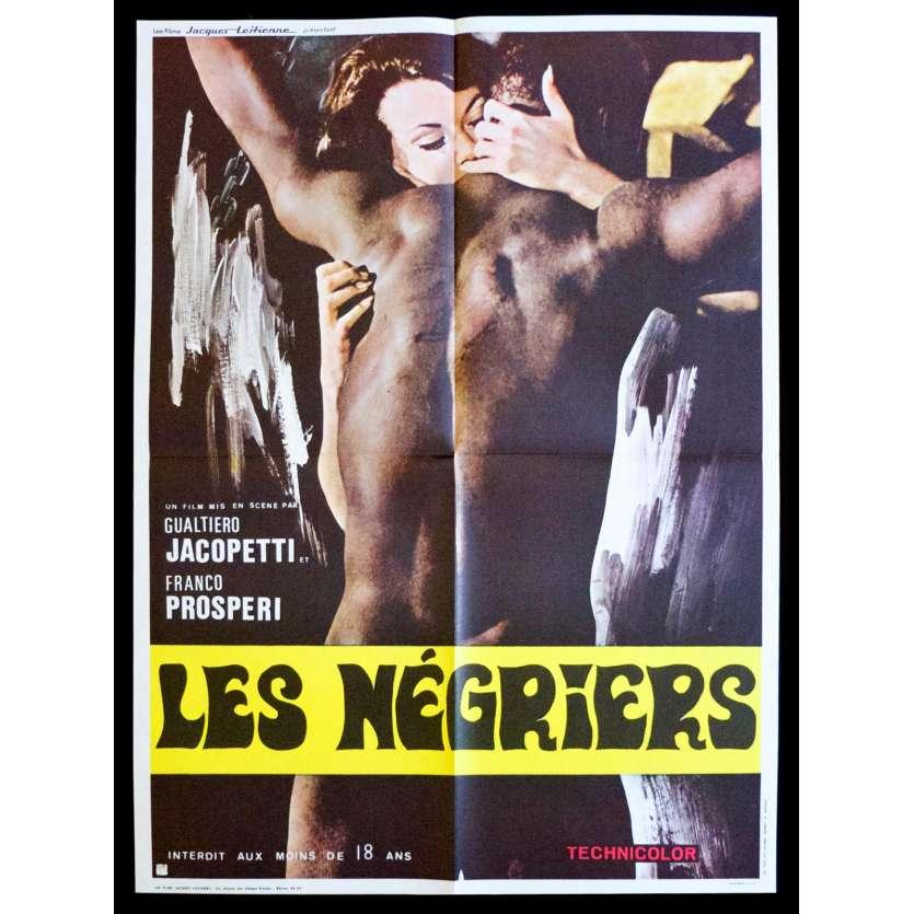 LES NEGRIERS Affiche de film 60x80 - 1971 - Franco Prosperi, Gualtiero Jacopetti