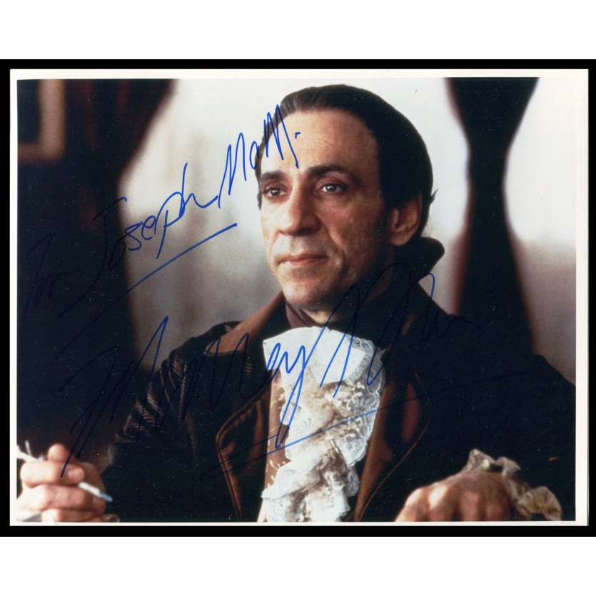 F. MURRAY ABRAHAM Photo Signée 20x25 - 1984 - Amadeus
