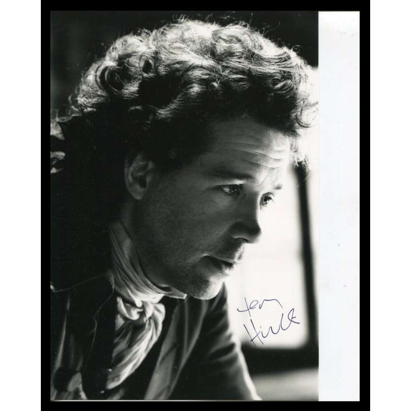 TOM HULCE Photo Signée 17,5x25,5 - 1984 - Amadeus
