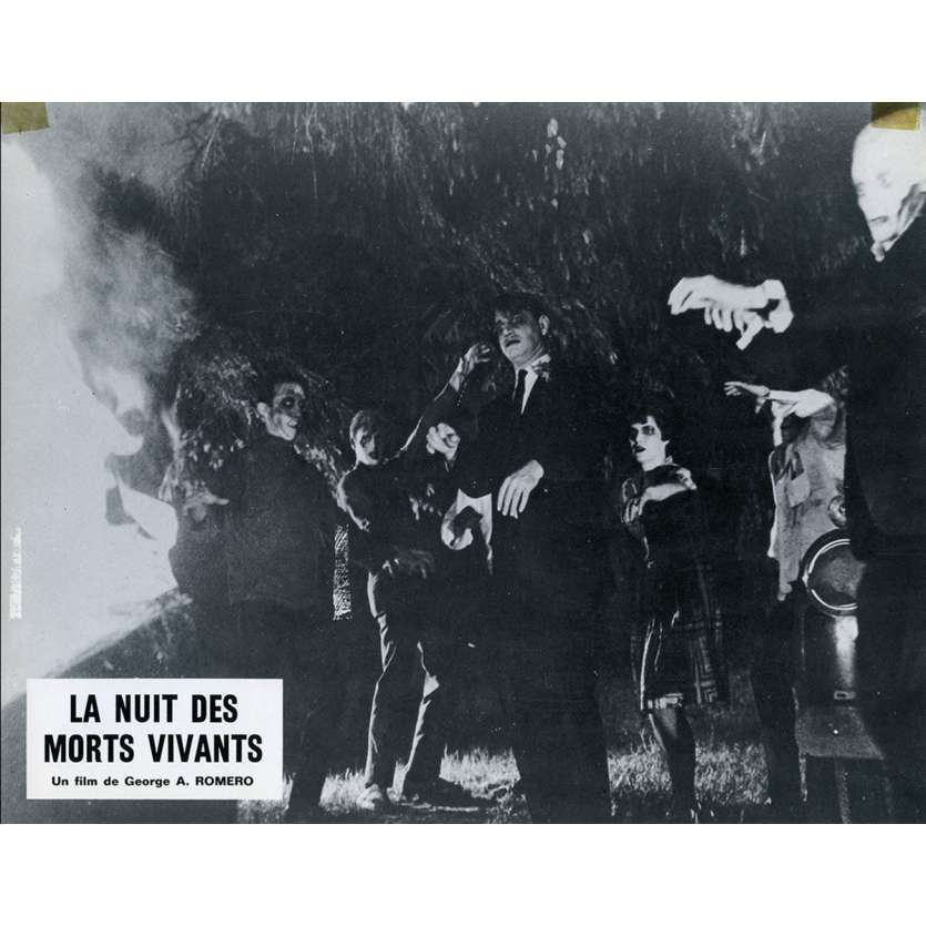 LA NUIT DES MORTS VIVANTS Photo de film N10 21x30 - 1968 - Duane Jones, George A. Romero