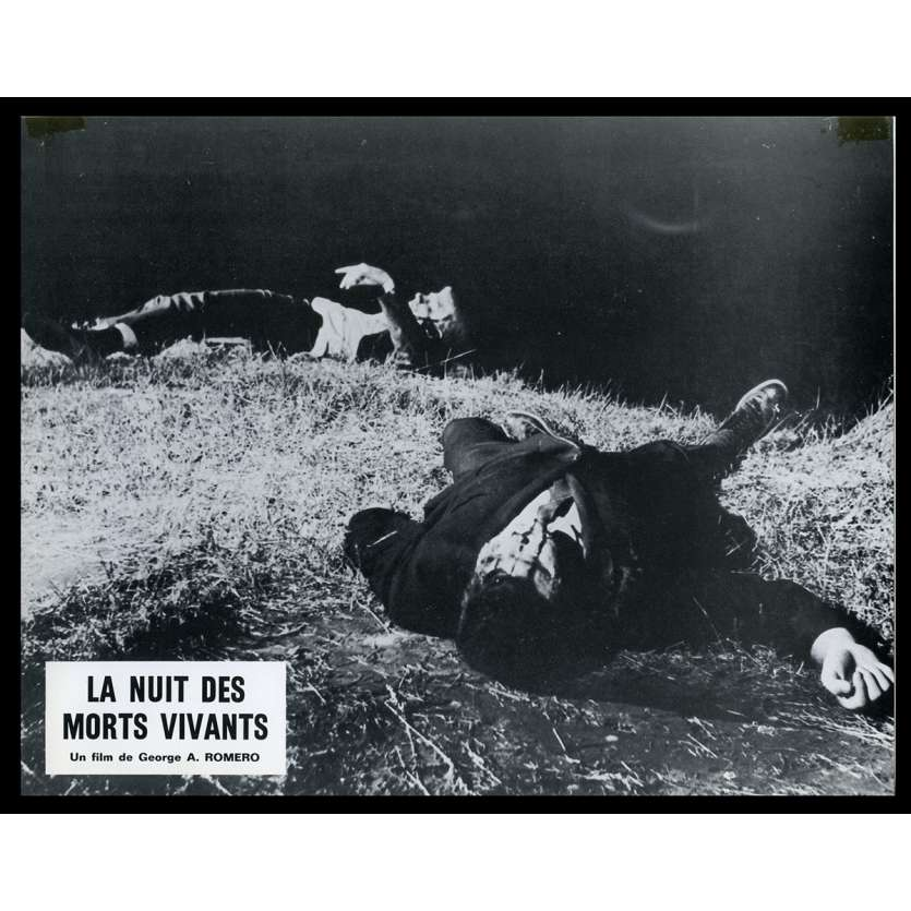 NIGHT OF THE LIVING DEAD French Lobby card N3 9x12 - 1968 - George A. Romero, Duane Jones