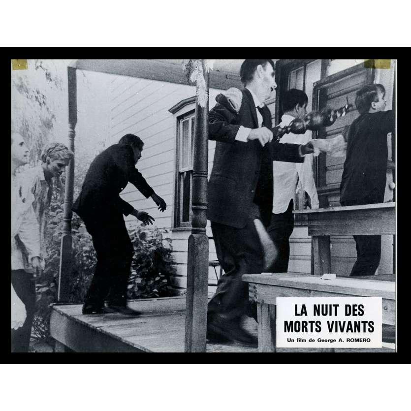 NIGHT OF THE LIVING DEAD French Lobby card N2 9x12 - 1968 - George A. Romero, Duane Jones