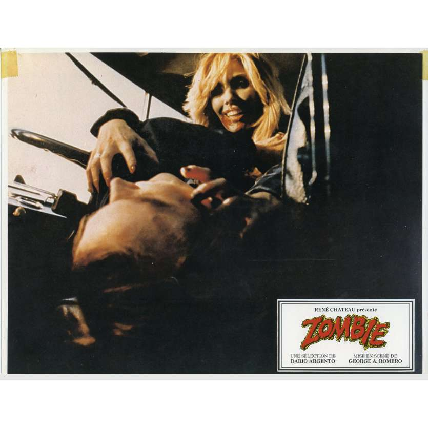 ZOMBIE Photo de film N10 21x30 - 1979 - Tom Savini, George A. Romero