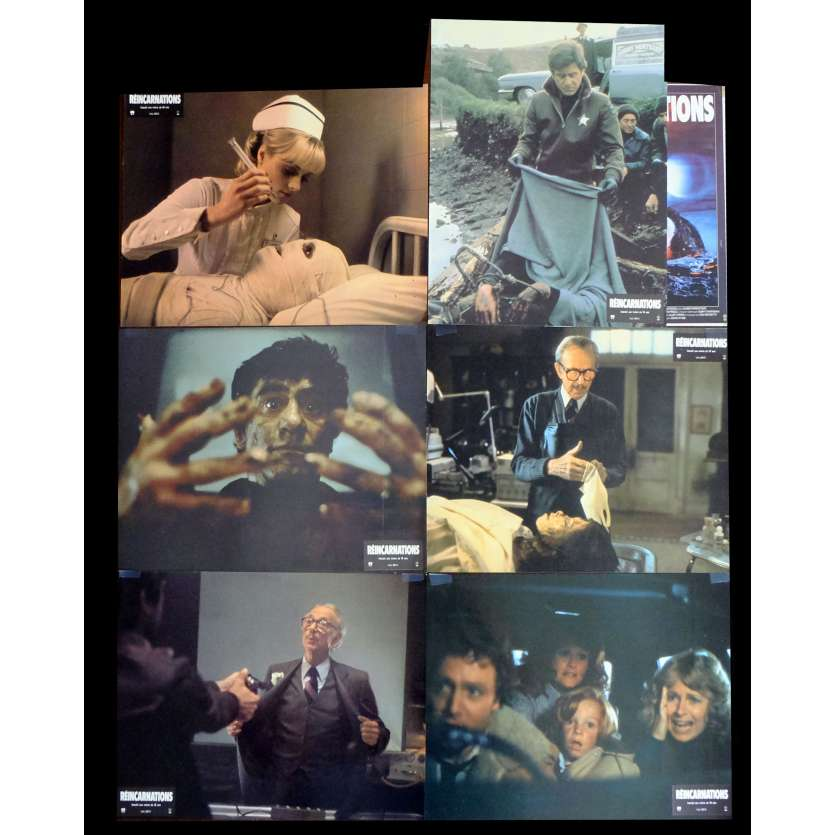 DEAD AND BURIED French Lobby cards x6 9x12 - 1981 - Gary Sherman, Robert Englund