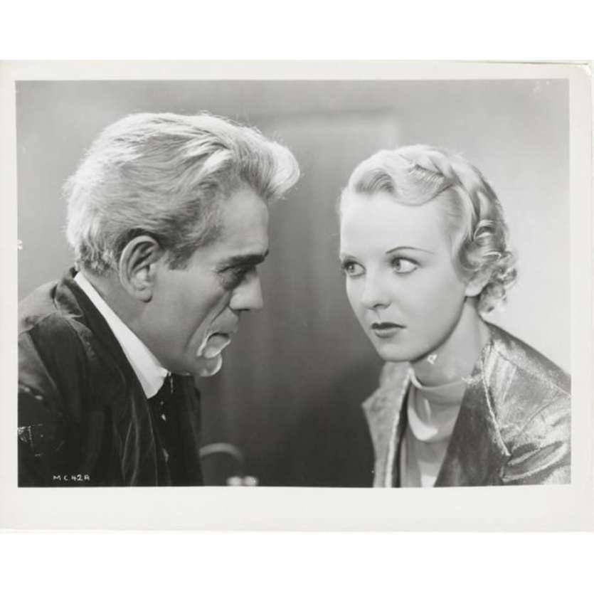 THE MAN WHO LIVED AGAIN US Still N2 8x10 - R1970 - Robert Stevenson, Boris Karloff