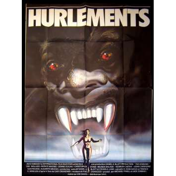 HURLEMENTS Affiche de film 120x160 - 1981 - Dee Wallace, Joe Dante